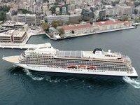 Galataport İstanbul'a, sezonun ikinci yolcu gemisi yanaştı