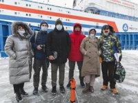Dünyanın tek yüzer nükleer santrali Akademik Lomonosov, ilk kez ziyarete açıldı