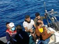 Datça'da 28 düzensiz göçmen kurtarıldı