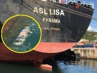 İzmit Körfezi'ni kirleten ASL LISA isimli gemiye 3 milyon lira para cezası kesildi