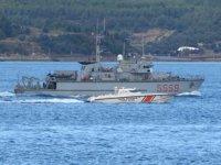 NATO'ya bağlı savaş gemileri, Çanakkale'ye geldi