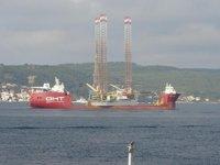 'Albatross' isimli gemi, Çanakkale Boğazı'ndan geçti