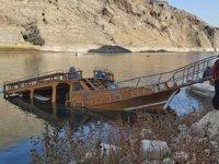 Keban Baraj Gölü'nde batan tekne ile ilgili inceleme başlatıldı