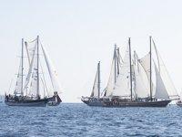 Bodrum Cup'ta yelkenler, yangında zarar gören bölgelere açıldı