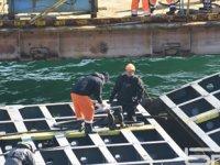 Hava şartları, VERA SU gemisindeki yükün boşaltılmasını zorlaştırdı