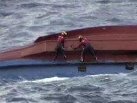 Japonya'da Güney Koreli balıkçı teknesi alabora oldu: 6 kayıp