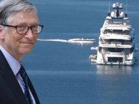 Bill Gates, süper yatı ve lojistik destek gemisiyle Türkiye'ye geldi