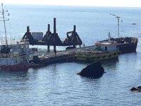 VERA SU gemisinde yük boşaltma çalışmaları sürüyor