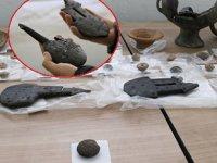 Tyana Antik Kenti'nde deniz canlısına ait 20 milyon yıllık fosil bulundu
