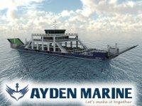 Ayden Marine, Pertek'e çift kapaklı feribot inşa edecek