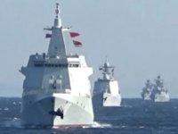 Rus ve Çin savaş gemileri, Pasifik'te ilk kez ortak devriyeye çıktı