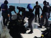 Marmara Denizi'ndeki hayalet ağlar çıkarıldı