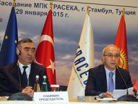 TRACECA Hükümetlerarası Komisyon Başkanlığı Türkiye'ye geçti