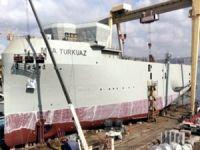 İlk yerli sismik gemimiz MTA Turkuaz haftaya denize iniyor