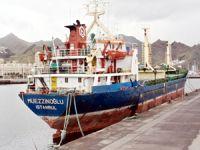 Türk bayraklı M/V MUEZZINOGLU, Santa Cruz de Tenerife Limanı'nda tutuklandı