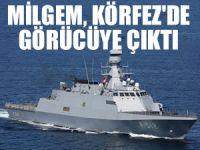 Türkiye'nin gururu TCG Büyükada'dan Körfez çıkarması!