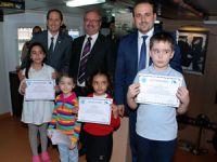 İMEAK DTO İzmir şubesinden çocukların deniz sevgisine ödül