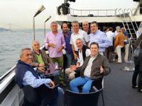 İTÜ Denizcilik Fakültesi 86 Mezunları bu kez eğlenmek amaçlı denize açıldılar