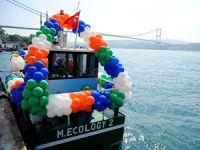 Temiz Deniz Süpürgesi 8 günde  Boğaz'dan 2 ton 790 kg atık topladı