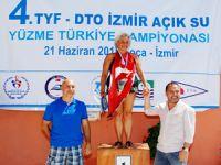 Türkiye Açık Su Yüzme Şampiyonası, Foça'da yapıldı
