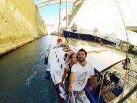 10 metrelik tekneyle 20 ay sonra Brezilya'ya ulaştılar