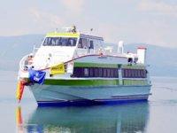 Akşemsettin deniz otobüsü, İznik Gölü'nde sefere çıktı