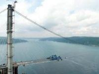 Yavuz Sultan Selim Köprüsü'nde sona yaklaşıldı