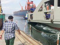 Çeksan Tersanesi M/F AHMET PİRİŞTİNA'yı denize indirdi