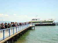 İznik Gölü'nde sefer yapan gemide taşıma ücretleri yüzde 50 indirildi