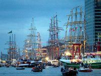 Avrupa'nın en büyük deniz festivali  'Sail Amsterdam' Hollanda'da başladı