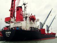 Türk Şirketine ait M/V EKMEN, Polonya'nın Police Limanı'nda alıkondu