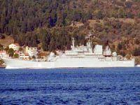 Rus savaş gemisi Caesar Kunikov Ege denizi'ne açıldı