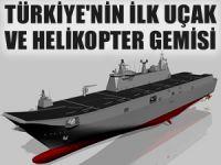 Türkiye'nin ilk helikopter ve uçak gemisi, 2021 yılında hizmete giriyor