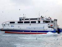 Marmara Denizi'nde deniz ulaşımına fırtına engeli