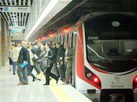 Marmaray'da iki yılda 105 milyon yolcu taşındı