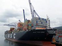 Evyapport büyük gemileri ağırlıyor