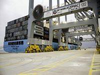 DP World Yarımca Limanı'na ilk gemiler geldi