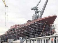 İlk Türk firkateyni 2021'de deniz ile buluşuyor