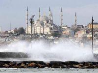 Marmara Denizi ve Kuzey Ege'de deniz ulaşımına lodos geçit vermiyor