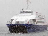 Marmara Denizi'nde İDO ve BUDO seferlerine kar iptali