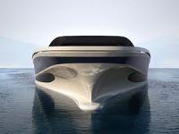 Yüzen ada konseptinde tasarlanan elektrikli yat: WHY