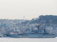 Rus savaş gemisine İstanbul Boğazı'nda yakın takip