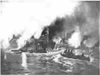 18 Mart Çanakkale Deniz Savaşı'nda batırılan İngiliz ve Fransız gemileri