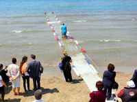 Muğla'da engellier için 'Engelsiz Sahil' projesi hayata geçirildi