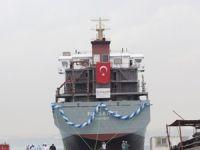 M/V Polarnet,  Altınova Seltaş Tersanesi'nde denize indirildi