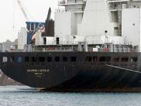 Aliağa'ya söküme gelen gemide kaçak akaryakıt yakalandı