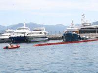 Marmaris'te deniz kirliliği tatbikatı gerçekleştirildi