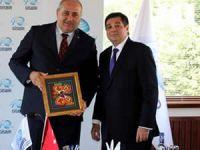 Panama Heyeti GİSBİR'i ziyaret etti