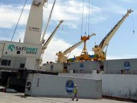 Safiport Derince Limanı'nın iş hacmi günden güne artıyor