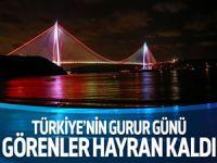 Yavuz Sultan Selim Köprüsü bugün açılıyor